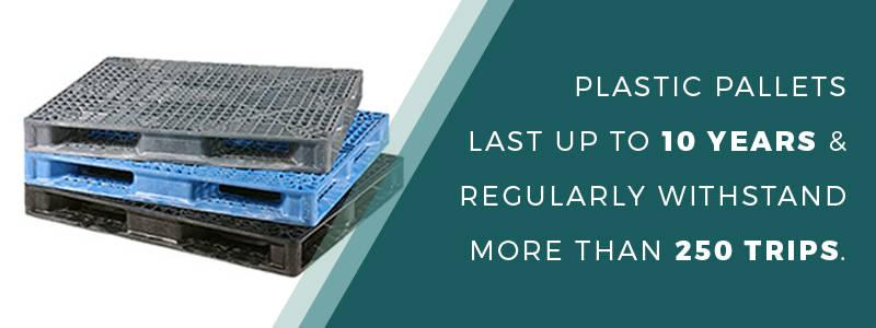Plastic pallet durability