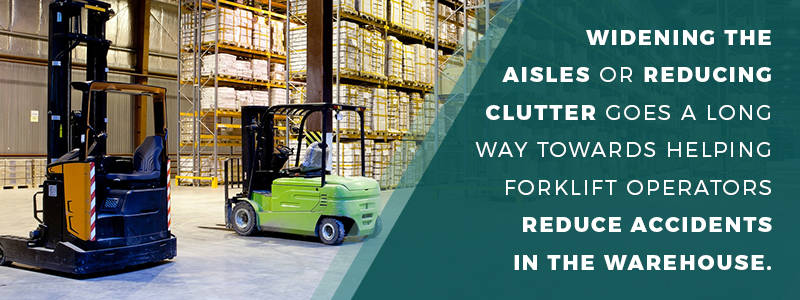reduce warehouse clutter