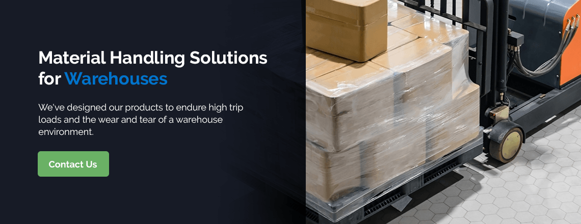 Material Handling Solutions for Warehouses
