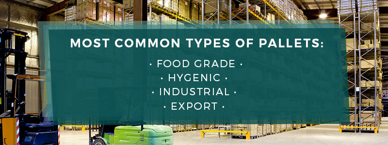 common types of pallets