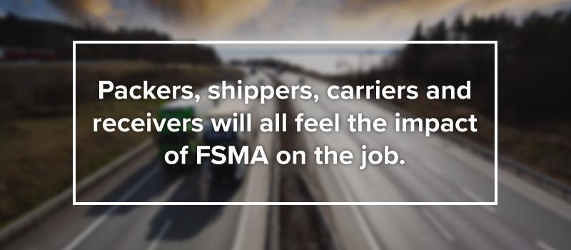 impact of FSMA