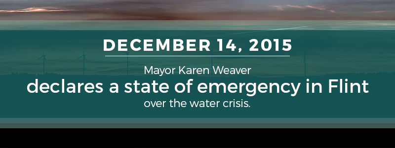 state of emergency in Flint Michigan