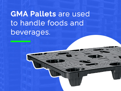 pallets to handle food and beverages