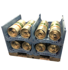 Open top TierStack keg rack