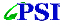 polymer solutions international logo blue and green