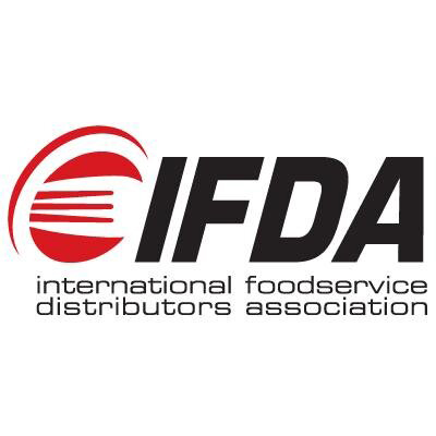 International Foodservice distributors association logo with red fork