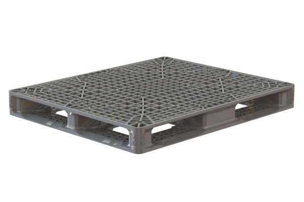 Grey ProTech pallet have low profile