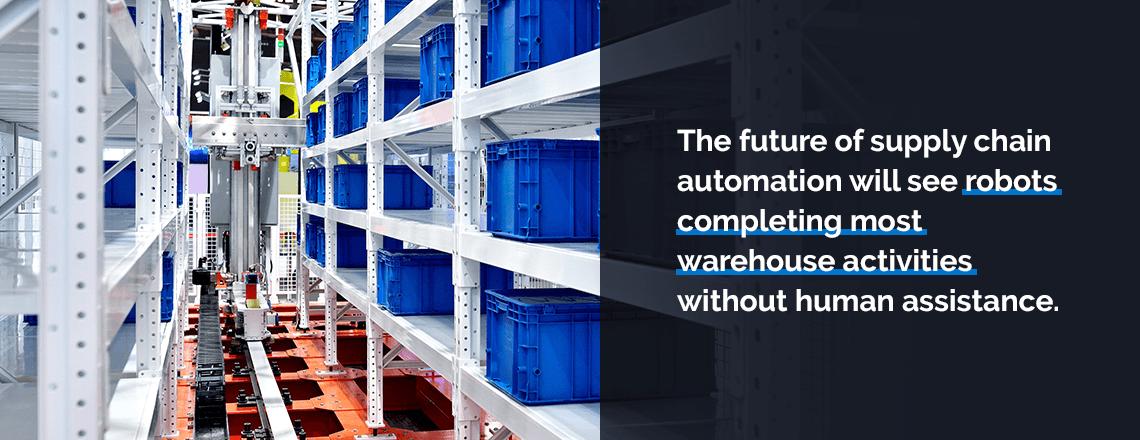 future of supply chain: robots